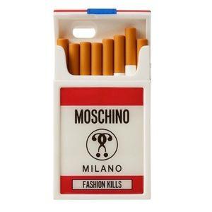 Moschino Fw16 Fashion Kills Cigarette iPhone Case